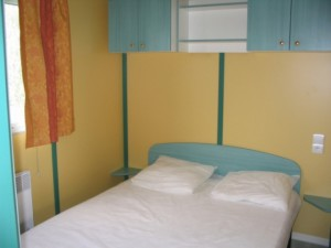 Hébergement 2 chambres intérieur