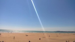 Un rayon de soleil sur le littoral Vendéen