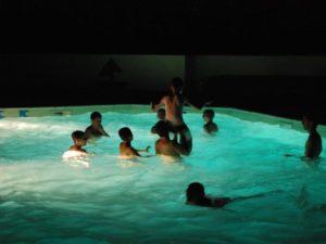 Camping familial avec piscine couverte