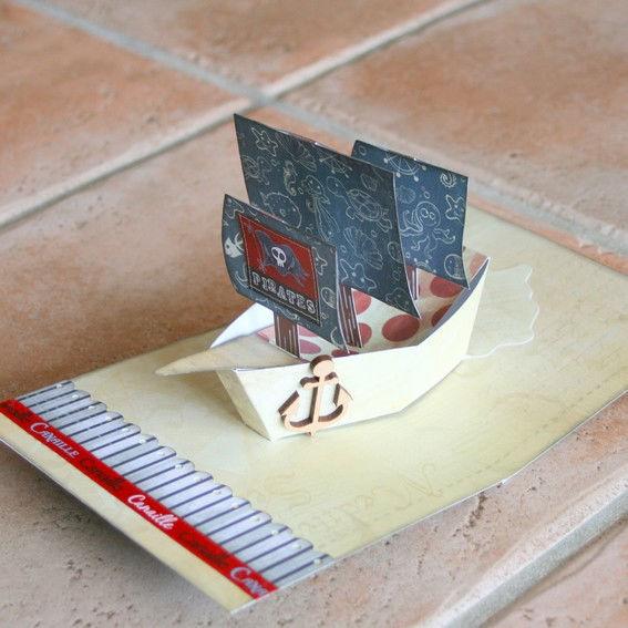 Atelier carte pop up pirate camping les charmes camping vendee 4 toiles - Mediatheque saint hilaire de riez ...