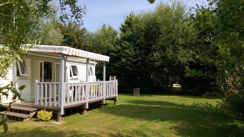 location Mobil home 2 chambres camping Vendée