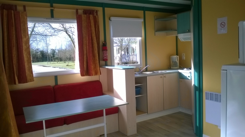 Location mobil home camping Apremont