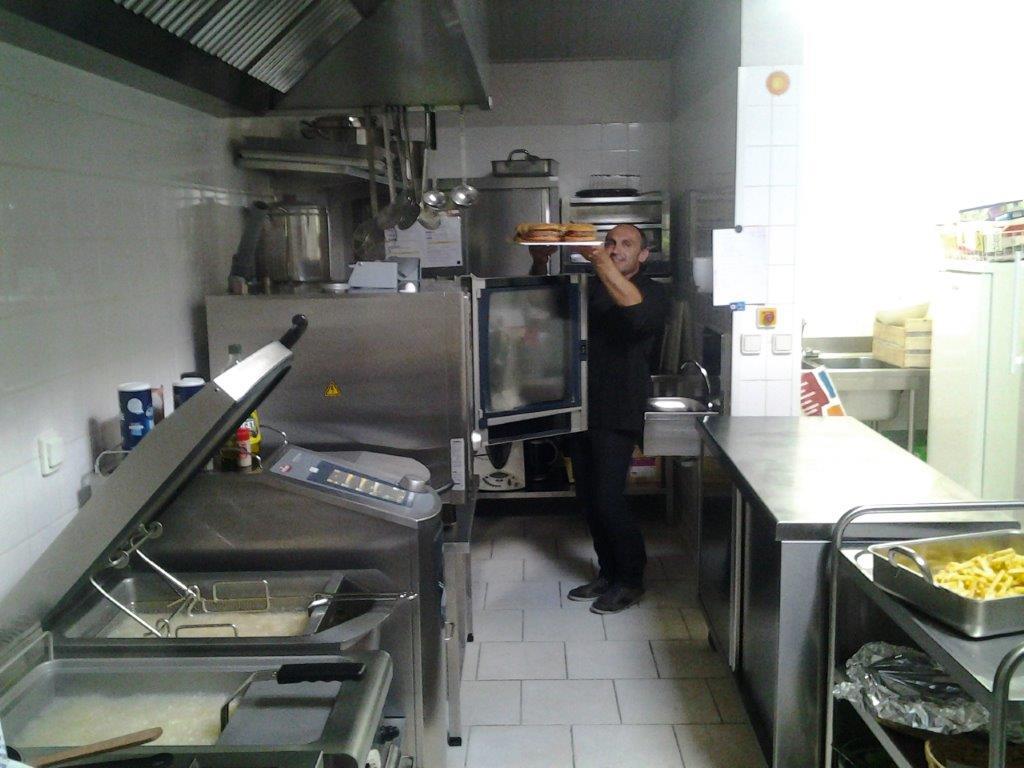 cuisine de la salle