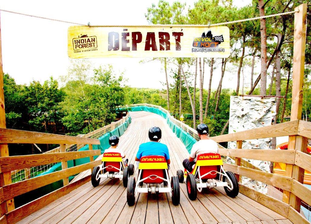 parc de loisirs pour les familles près du camping