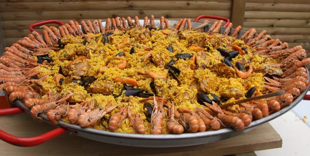 soiree paella au camping en Vendée
